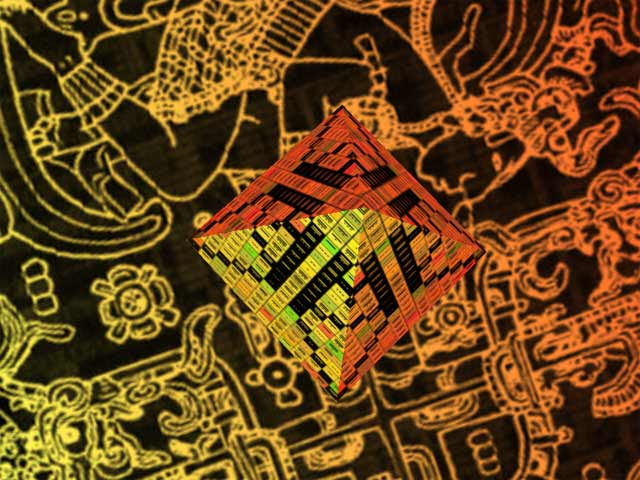 Tzolkin Maya 3D screen saver